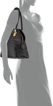 Cole Haan Benson Leather Dome Satchel Bag