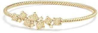 David Yurman Precious Châtelaine Bracelet with Yellow Diamonds in 18K Gold