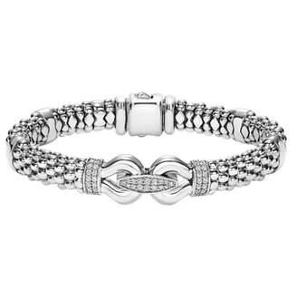Lagos 'Derby' Caviar(TM) Diamond Rope Bracelet