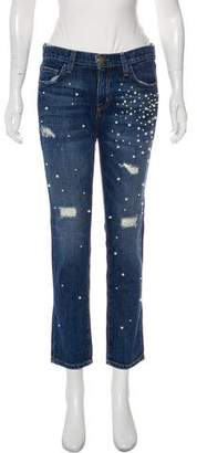 Current/Elliott The Fling Mid-Rise Jeans