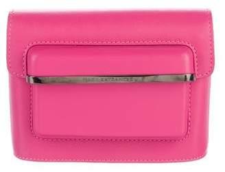 Mary Katrantzou Leather Box Clutch