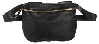 Clare Vivier Pebbled Leather Waist Bag