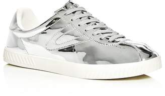 Tretorn Men's Camden 2 Metallic Lace Up Sneakers $95 thestylecure.com