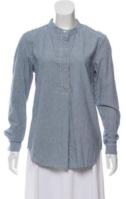 Closed Chambray Long Sleeve Top w/ Tags