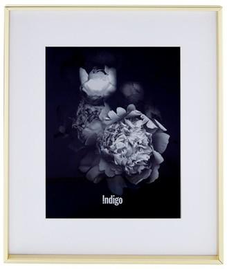 "Indigo Gallery Frame Slim Brass - 8"" x 10"" Opening"