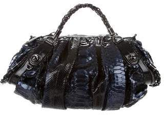 Gucci Python Galaxy Top Handle Bag