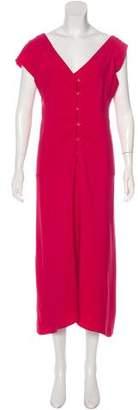 Maison Margiela Asymmetrical Maxi Dress