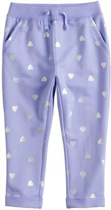 Osh Kosh Toddler Girl Jumping Beans French Terry Pants