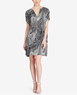 American Living Crepe Shift Dress $79 thestylecure.com