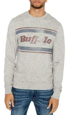 Buffalo David Bitton Fylage Graphic Cotton Sweatshirt