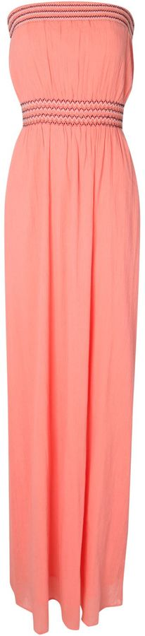 Jane Norman Sheered Bust Maxi Dress