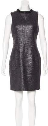 Andrew Marc Metallic Embellished Dress w/ Tags