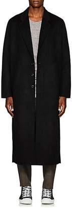 Chapter MEN'S WOOL-BLEND LONG COAT - BLACK SIZE L