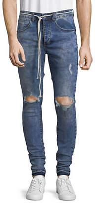 KOLLAR Blown Out Skinny Jeans