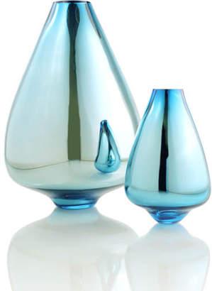 """Tsunami Glassworks Hand-Blown Glass Vase """"Toro"""""""