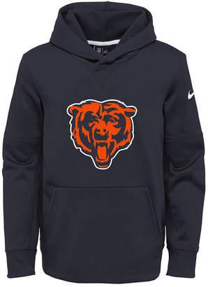 Nike Chicago Bears Circuit Logo Hoodie, Big Boys (8-20)