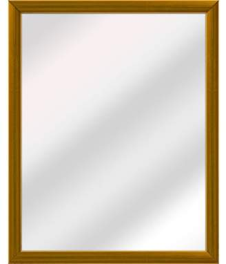 "Generic Rustic Mirror, 24"" x 30"" Wall Art"
