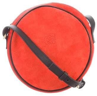 Loewe Suede & Leather Crossbody Bag
