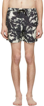 Black Troppo Resort Swim Shorts