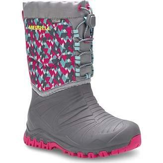 Merrell Girls' Snow Quest Lite WTRPF Boot