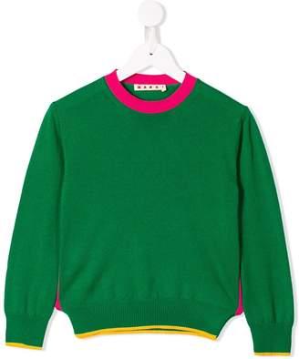 Marni green knit sweater