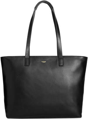 Knomo London Leather Laptop Tote