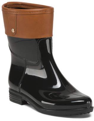 Mid Shaft Rain Boots