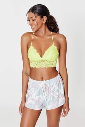 Ardene Ultra Soft Floral Lounge Shorts