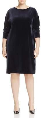 Marina Rinaldi Ocelot Velour Jersey Dress