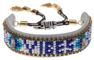 Rebecca Minkoff Good Vibes Only Beaded Bracelet