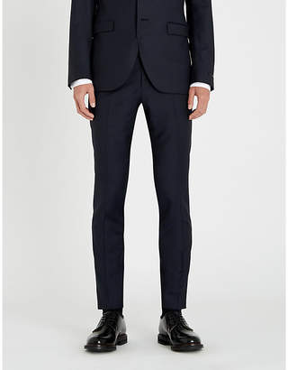 Tiger of Sweden Birdseye slim-fit tapered wool trousers