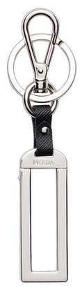 Prada Metal Name Tag