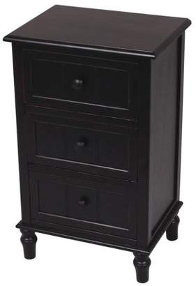 Decor Therapy Three Drawer End Table