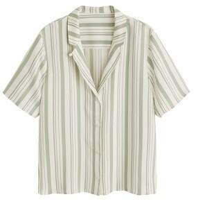 MANGO Lapels striped shirt