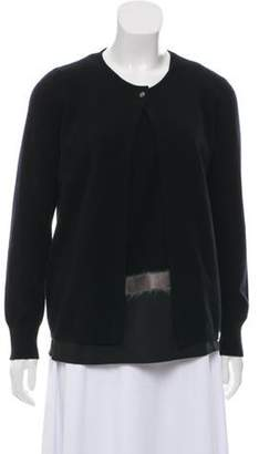 Fabiana Filippi Merino Wool Cardigan Set Black Merino Wool Cardigan Set