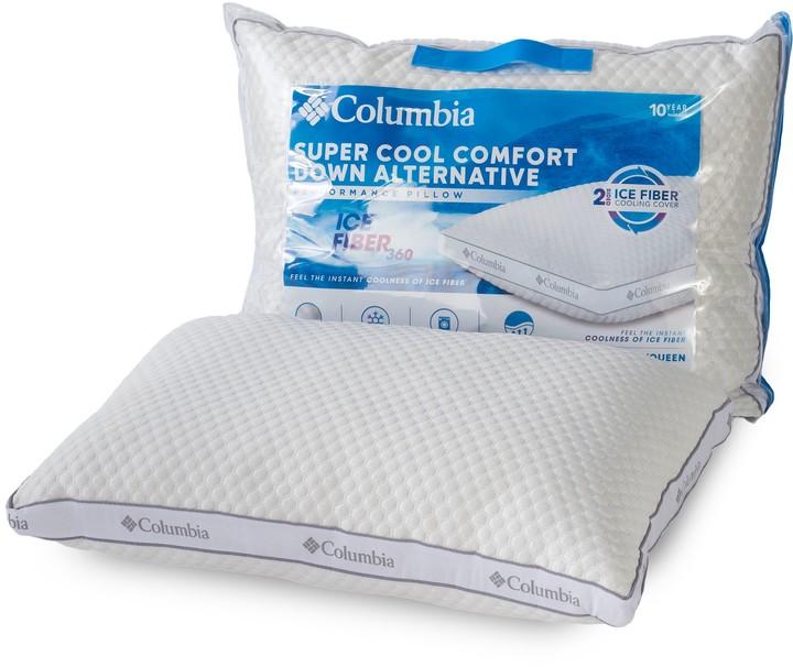 Columbia Ice Fiber Side Sleeper Down Alternative Pillow