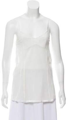 Organic by John Patrick Mesh Sleeveless Top w/ Tags