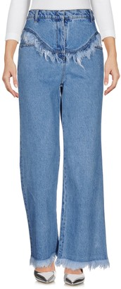 Philosophy di Lorenzo Serafini Denim pants - Item 42622690FQ