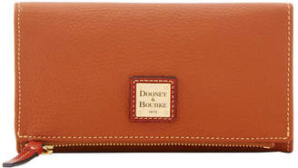 Dooney & Bourke Pebble Grain Foldover Wallet