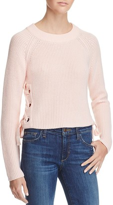 Endless Rose Lace-Up Sweater $75 thestylecure.com
