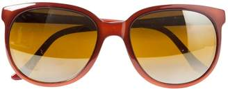 Vuarnet Brown Plastic Sunglasses