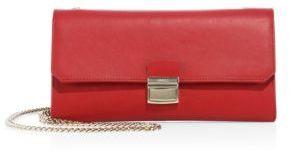 Furla Sinfonia Leather Mini Clutch $328 thestylecure.com
