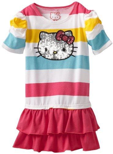 Hello Kitty Baby-girls Infant Striped Dress