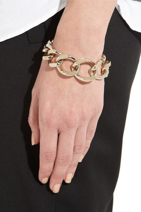 Givenchy Chain bracelet in gold-tone metal