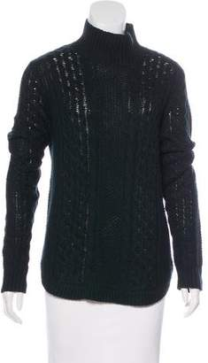 Theory Cable Knit Turtleneck Sweater