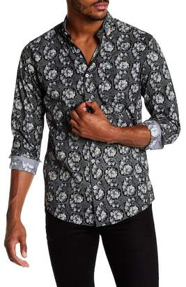 Coastal Printed Electric Floral Modern Fit Shirt