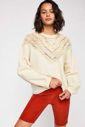 Coco Crochet Pullover