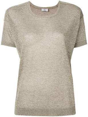 Closed glitter T-shirt