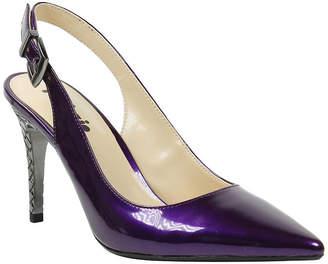 PALIZZIO Palizzio Womens Bethane Pumps Buckle Pointed Toe Stiletto Heel