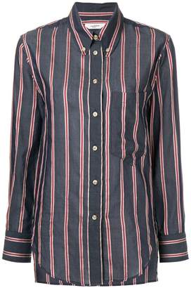 Etoile Isabel Marant striped buttondown shirt